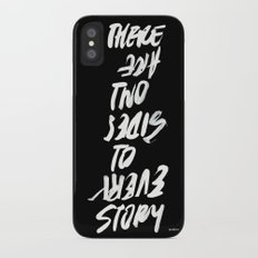 TWO SIDES iPhone X Slim Case