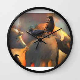 Pigs Don't Fly Wall Clock