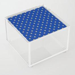 Royal Blue Acrylic Box