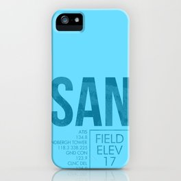 SAN iPhone Case