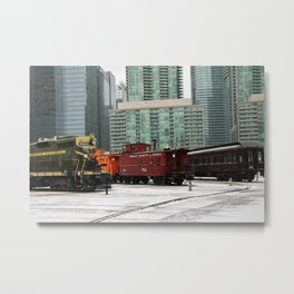 toronto trains Metal Print
