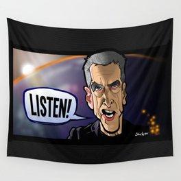 Listen Wall Tapestry