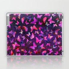 Butterfly Forest Purple Laptop & iPad Skin