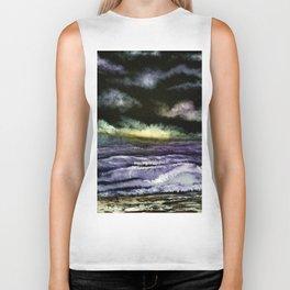 Lavender Waves Biker Tank