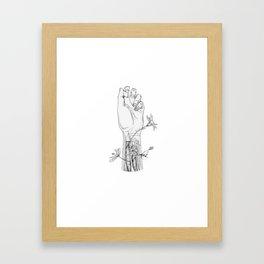 Embedded Framed Art Print