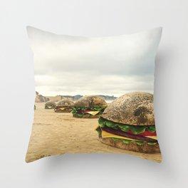 Moeraki Burgers Throw Pillow