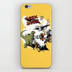 T-Rex VS Shark  iPhone & iPod Skin