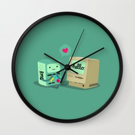 BMO & Macintosh Wall Clock