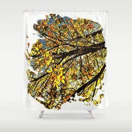 Last Gasp of Autumn Shower Curtain