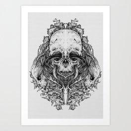 Everything with Skulls - 04 Art Print