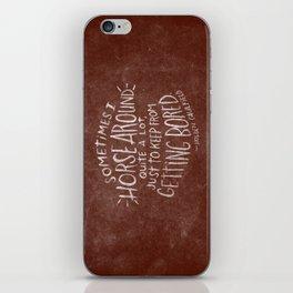 HOLDEN CAULFIELD iPhone Skin