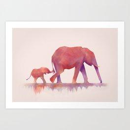 Colors to Life Art Print