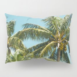 Coconut Palm Trees Sugar Beach Kihei Maui Hawaii Pillow Sham