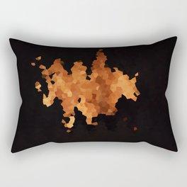 Autumn Fire Rectangular Pillow