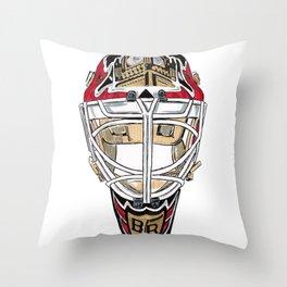Rhodes - Mask Throw Pillow