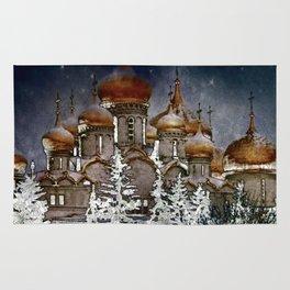 Russian Winter Rug