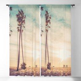 Venice Beach California Blackout Curtain