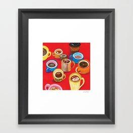 Mugs Mugs Mugs Framed Art Print