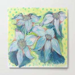 Floppy flowers Metal Print