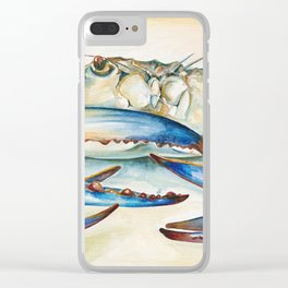 Crab Eyes Clear iPhone Case