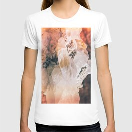 Dreamy Large Quartz Crystals T-shirt