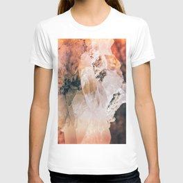 Dreamy Large Quartz Crystals T-shirt