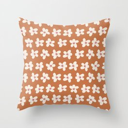 SRPING IS IN THE AIR  IN ORANGE Throw Pillow