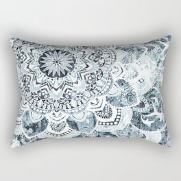 MOON SMILE MANDALA Rectangular Pillow