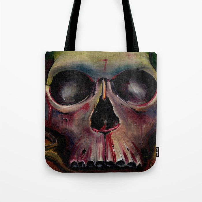 The Mask of the Red Death Tote Bag