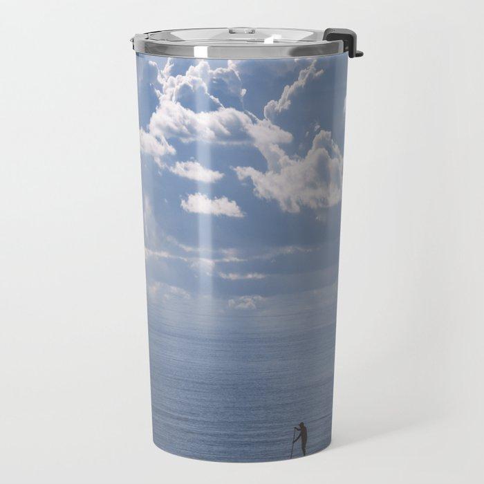Escape to the Sea Travel Mug