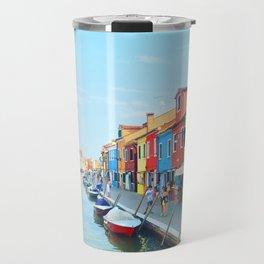 Colorful Island Travel Mug