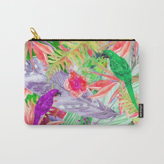 exotic parrots i Carry-All Pouch