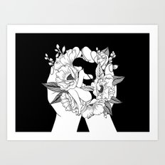 Natural Woman Art Print