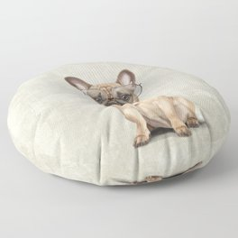 Mr French Bulldog Floor Pillow