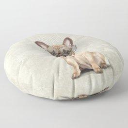Mr French Bulldog Floor Pillow