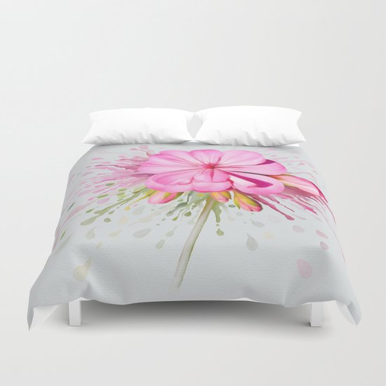 Color Eruption Duvet Cover