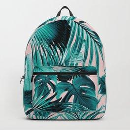 Tropical Jungle Leaves Dream #4 #tropical #decor #art #society6 Backpack