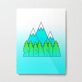 Siberia Metal Print