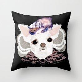 Puppy Antoinetta Throw Pillow