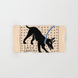 Cave Canem Hand & Bath Towel