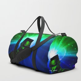 "Grace Jones ""Remixed"" Duffle Bag"