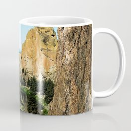 Rocks + River // Hiking Mountains Colorado Scenic View Landscape Photography Forest Backpacking Vibe Coffee Mug