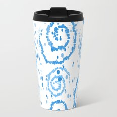 Abstract Blue Squigglisciousness Travel Mug
