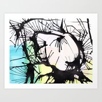After the Morning Art Print