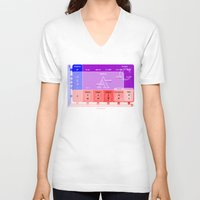 numbers V-neck T-shirts featuring The numbers by tuditees