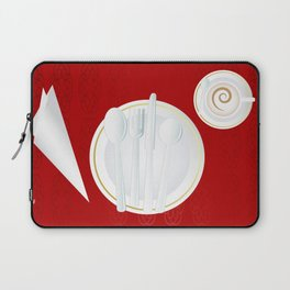 Table setting for one Laptop Sleeve