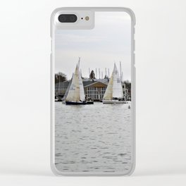The Harbor, Annapolis - View I Clear iPhone Case