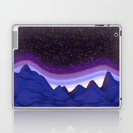Mountains in Space Laptop & iPad Skin