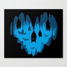 Bats Love Caves Canvas Print