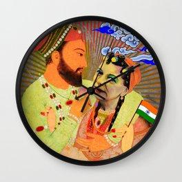 Hilda My Queen Wall Clock